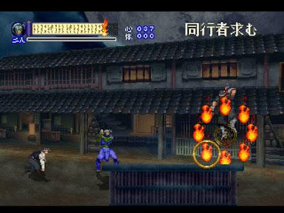 【SS】心靈咒殺師 太郎丸,橫版動作ACT