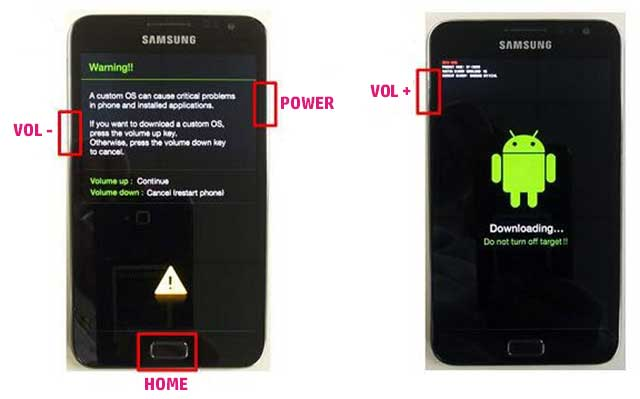 modo download samsung galaxy ace 4
