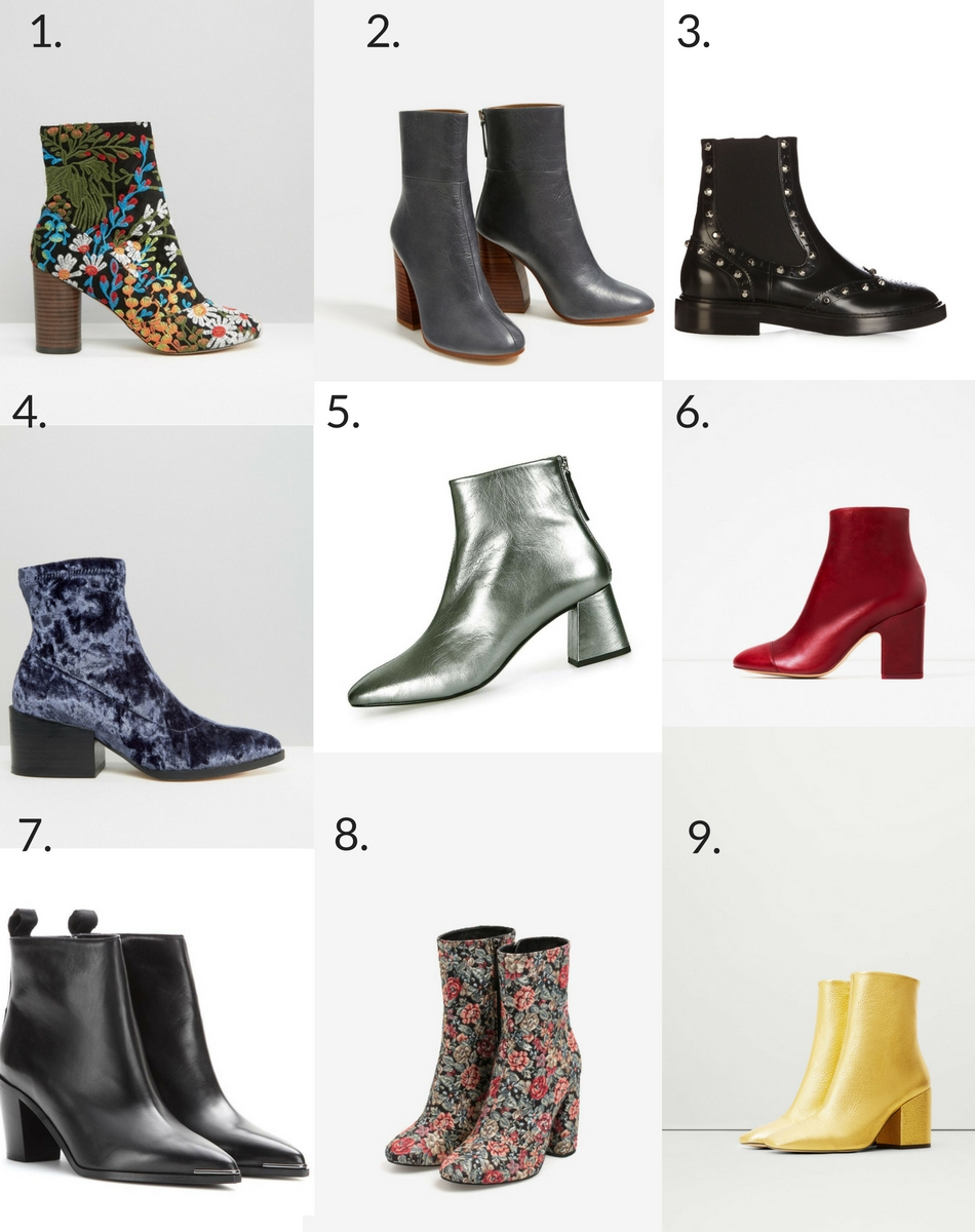 Fashion Trend: The Ankle Boots to Buy for Autumn/Winter 2016.