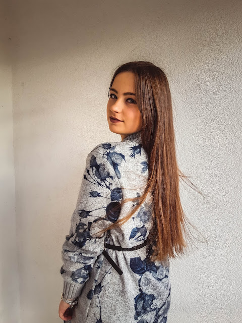 outfit post moda zima 2019 livinglikev fashion blogger living like v modni blog dresslily dress haljina