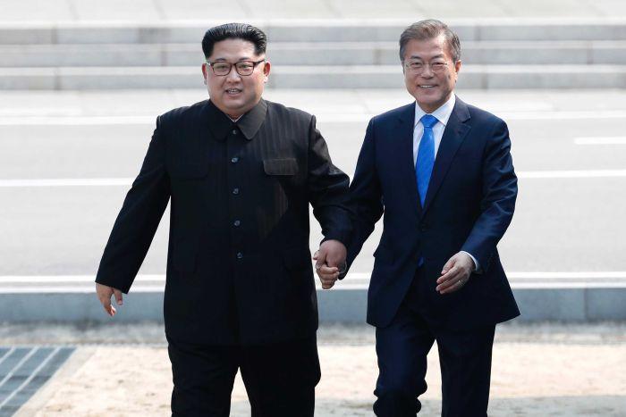 South Korea and North Korea Reunited