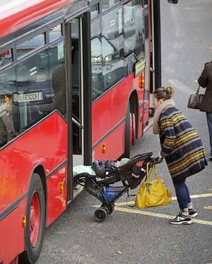 fa0153577 e bebés entrarán al bus urbano por la puerta delantera desde ya ...