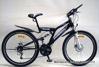 Sepeda Gunung EVERGREEN RANGER 21 Speed 24 Inci
