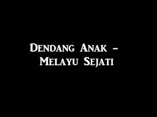 Dendang Lagu Pop Melayu Asli