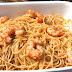 Espaguettis con gambas al ajillo ( espectaculares)