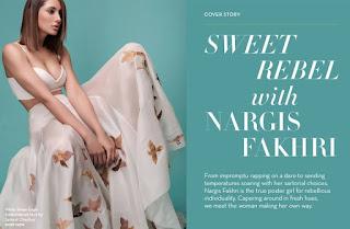 Nargis Fakhri in Fresh Fashion Magazine