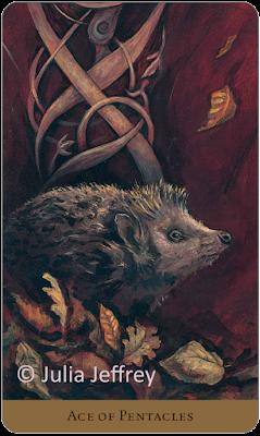 Tarot of the Hidden Realm  Ace of Pentacles