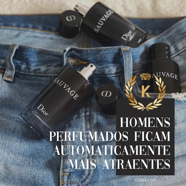 Homens perfumados ficam automaticamente mais atraentes