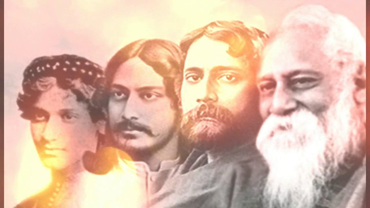 Aji Bangladesher Hridoy Hote | Rabindra Sangeet | Lyrical ...