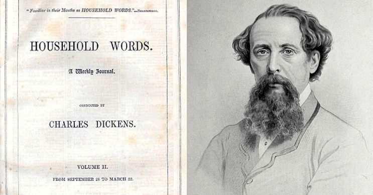 The Household Words dergisindeki köşesinden konuyla ilgili bir açıklama yapmıştı.