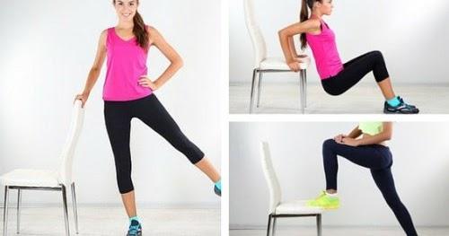 6 exercices que vous pouvez faire avec une chaise pour r duire les poign es d amour. Black Bedroom Furniture Sets. Home Design Ideas