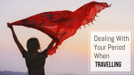 deal with period while travelling