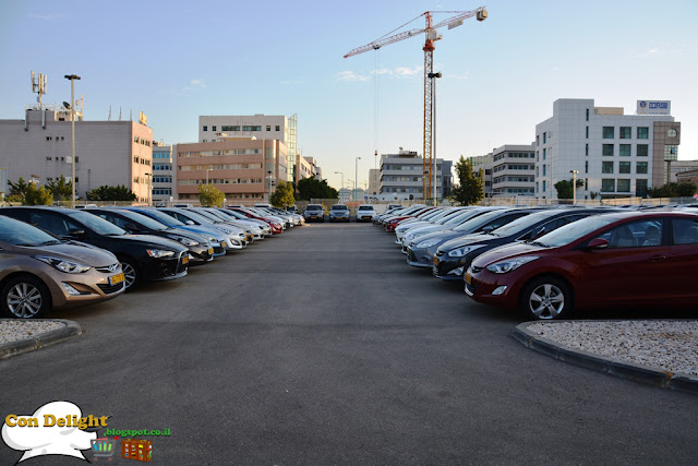 14 acres of cars 14 דונם של רכב