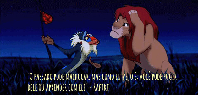Frase Rafiki O Rei Leão The Lion King Net7art