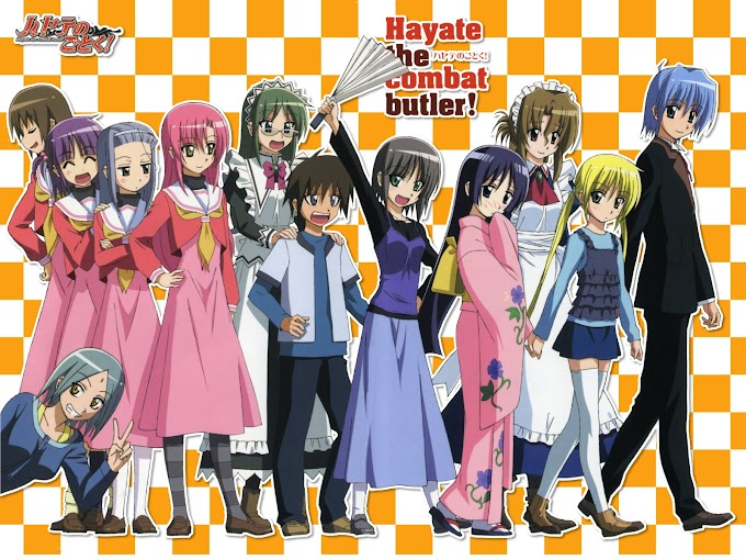 Hayate no Gotoku! Heaven Is a Place on Earth BD [MOVIE]