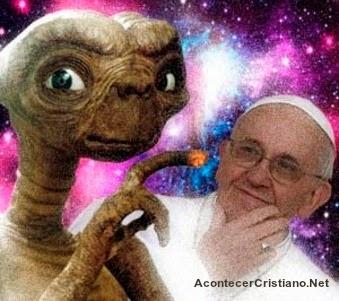 Iglesia Católica y los extraterrestres