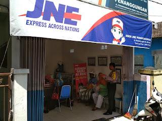 alamat agen JNE di Kediri.