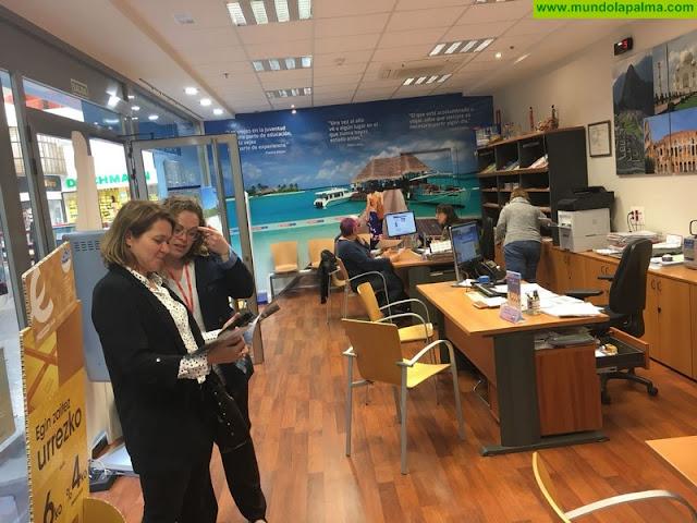 'La Palma La Isla Bonita' se promociona como destino turístico en un encuentro directo con agentes de viajes en Bilbao