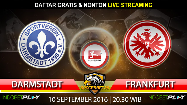 Prediksi Darmstadt vs Frankfurt 10 September 2016 (Liga Jerman)
