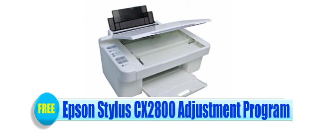 Epson Stylus CX2800 Adjustment Program