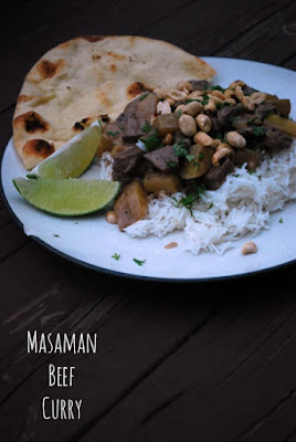 Masaman Beef Curry - The Gingered Whisk - Super easy weeknight thai recipe, so delicious!