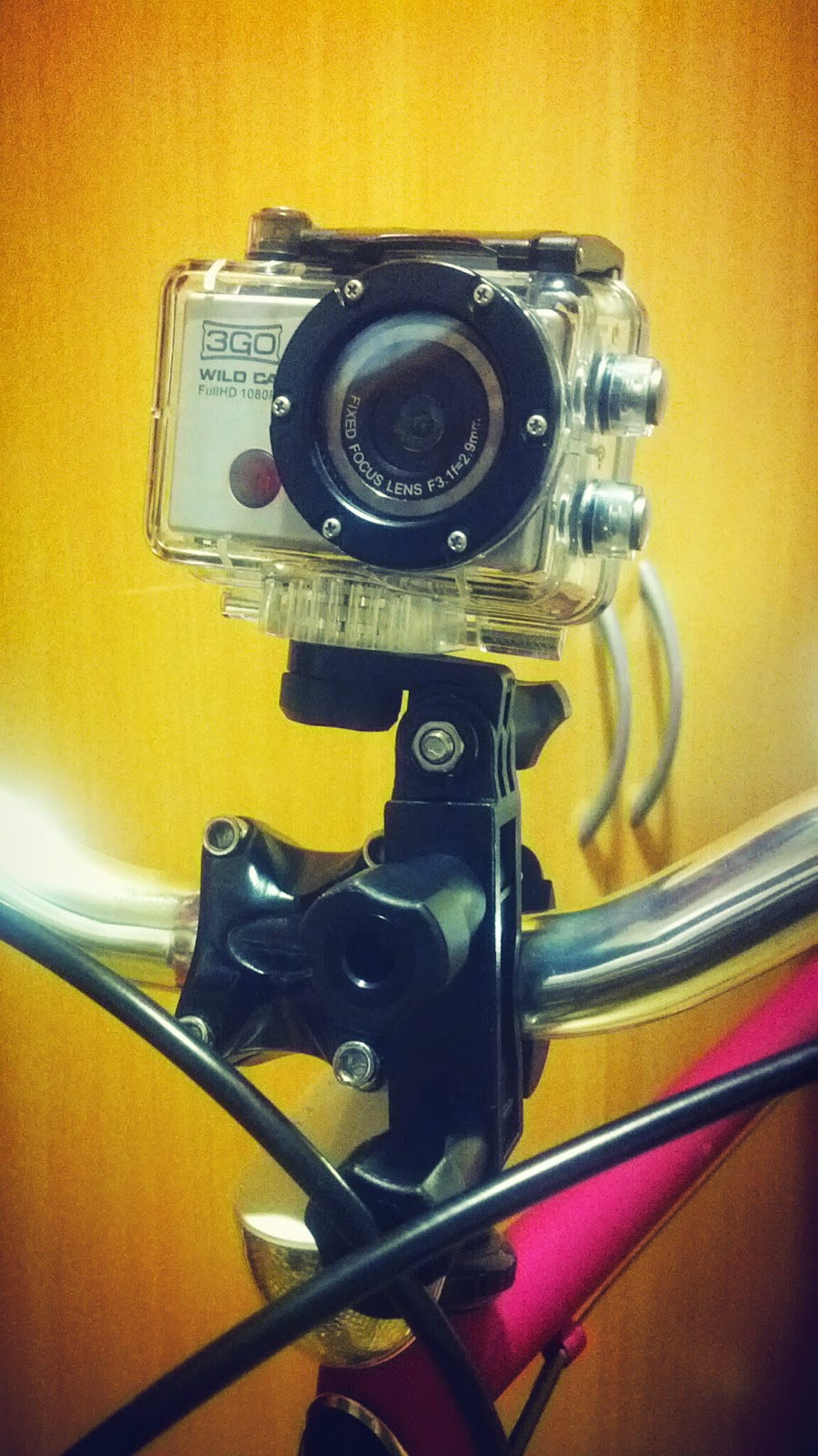 PRODUCT REVIEW: 3GO Wild Cam | Share your fixed gear rides! GoPro