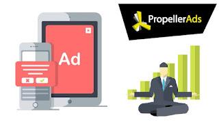 PropellerAds monetizar tráfico móvil