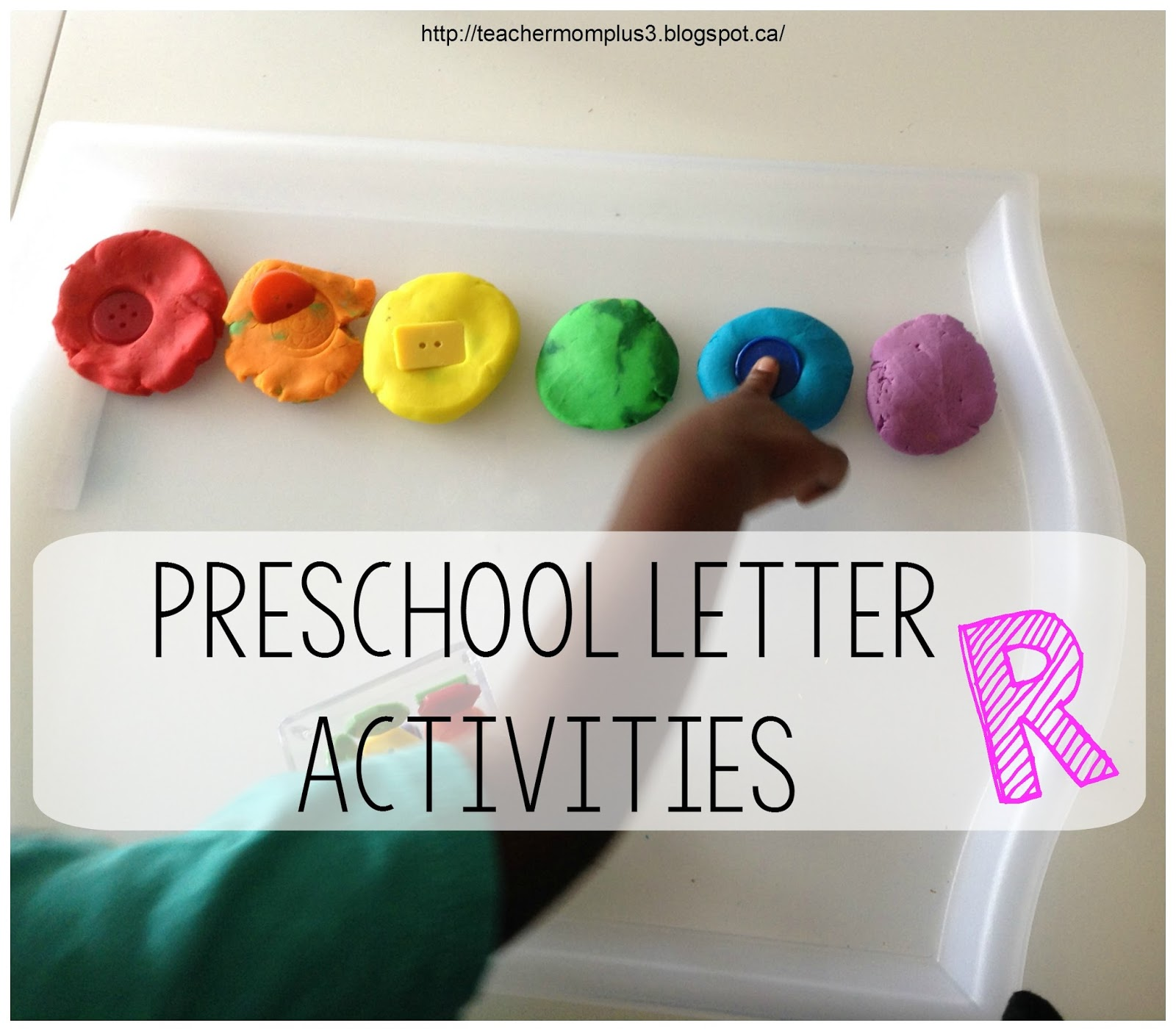 Teachermomplus3 Preschool Letter R Activities