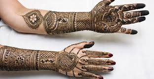 Latest Bridal mehandi designs 2015