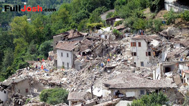 EarthQuake Occurs In Historical Tourist Places In Italy