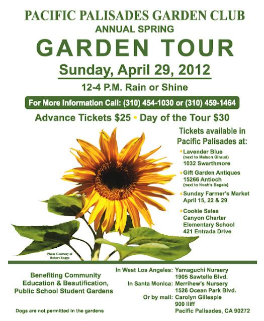 Pacifc Palisades Annual Garden Tour