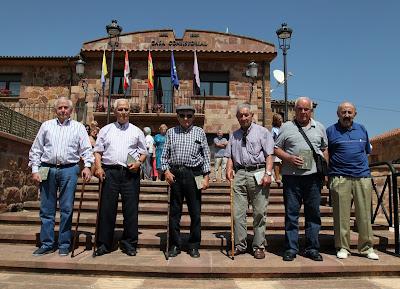 Mineros del carbón homenajeados en San Adrián de Juarros