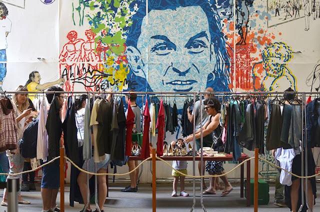 roupas reutilizáveis e troca de roupas