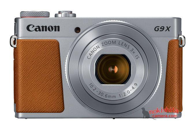 Canon PowerShot G9 X Mark II, вид спереди