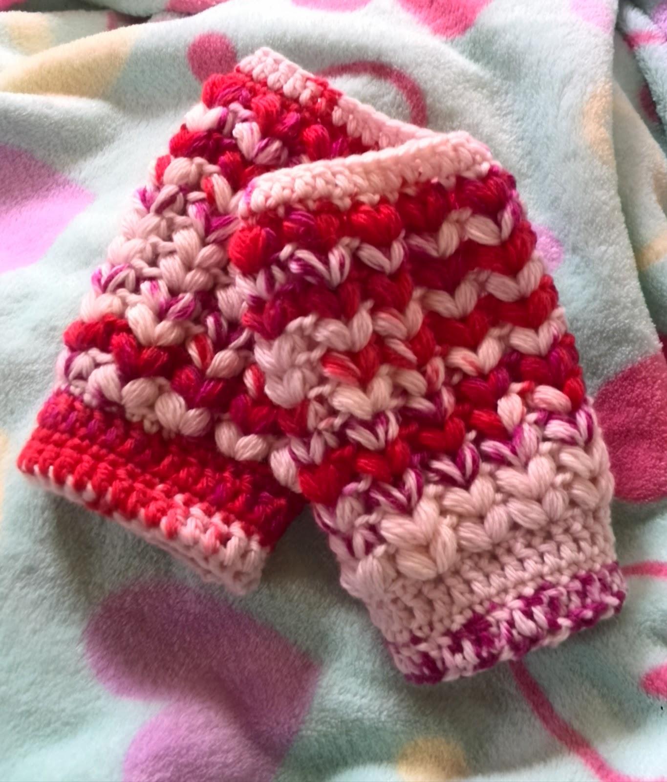 かぎ針編みのアームウォーマー