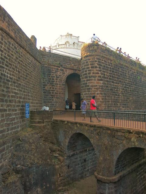 Fort Aguada, Sinquerim, Goa, India.