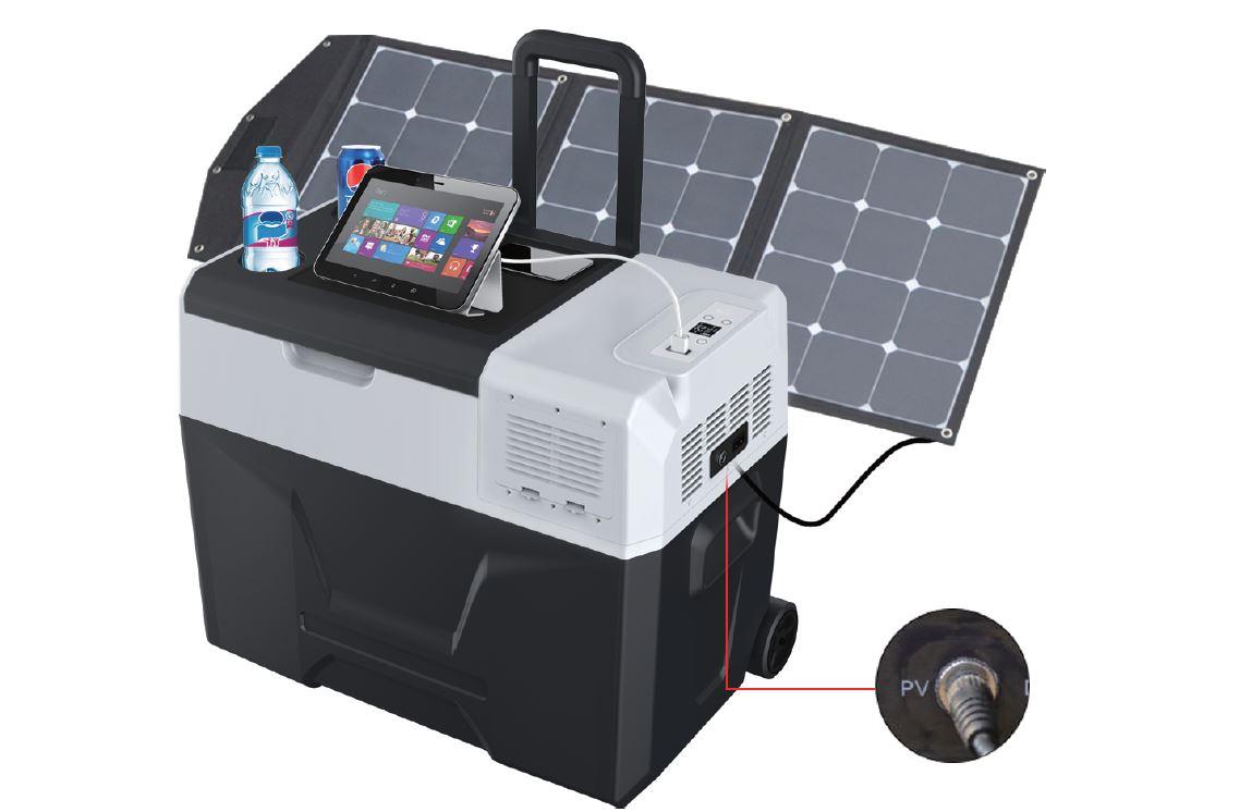 LiONCooler | Solar-Powered First Smartest Portable Cooler, Freezer