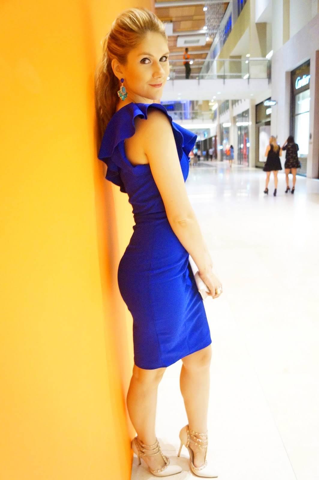 Sexy Blue Dress from Gama n Gama Boutique