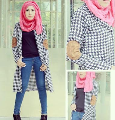 Style Baju Gamis Model Cardigan Wanita Panjang Dan Pendek