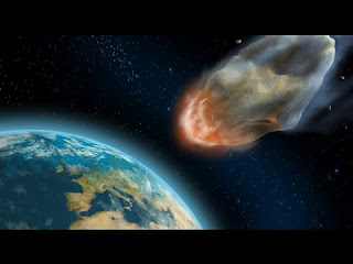 Large asteroid approaching Earth