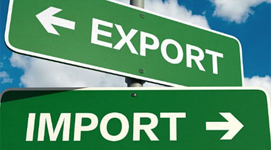 Export of goods rose by 7.2% in January and February
