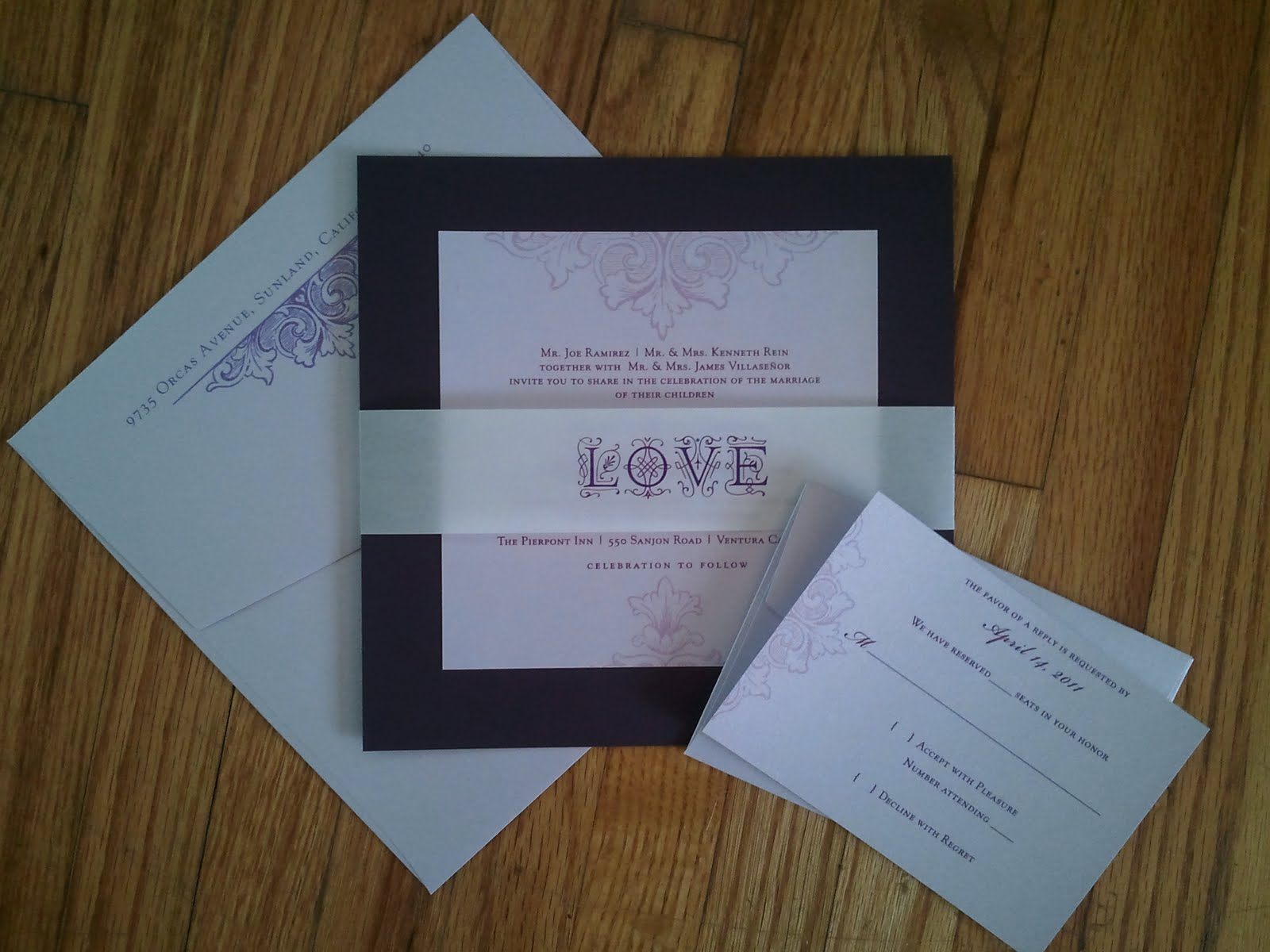 Basic Wedding Invitation Wording: Basic Invites Wedding Invitations