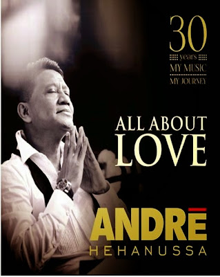 Andre Hehanussa - All About Love Cover Album