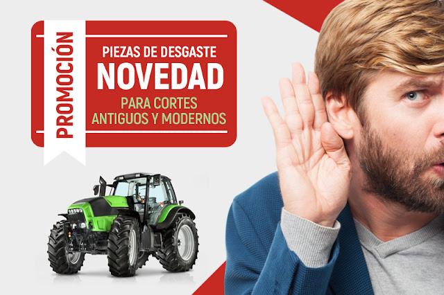 Ofertas en piezas de desgaste para tractores