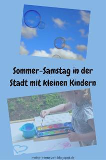 Sommer Beschäftigungen und Ausflüge für kleine Kinder