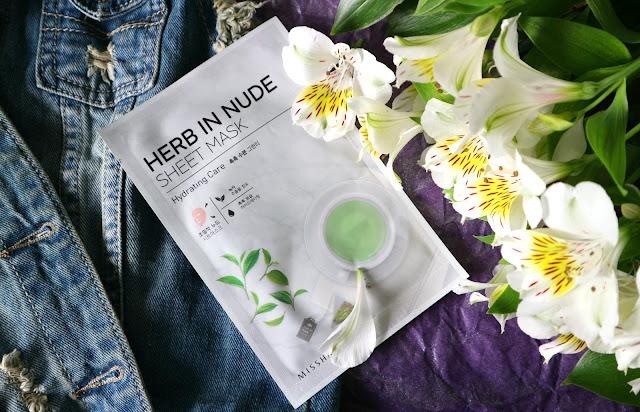 Missha Herb in Nude Sheet Mask Hydrating Care Тканевая маска с увлажняющим эффектом