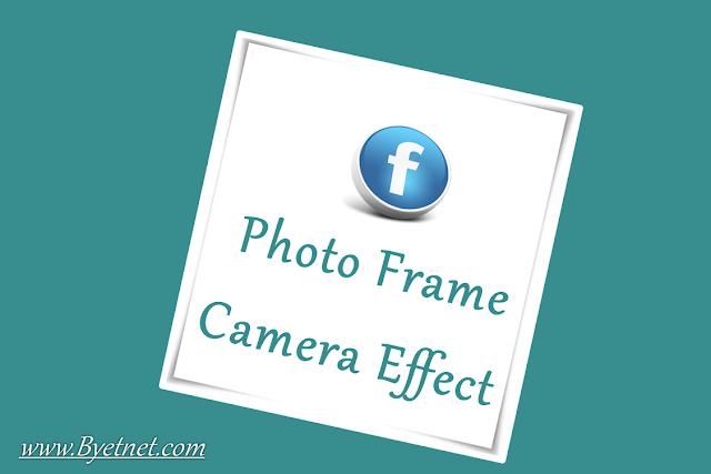 Facebook photo frame kaise banaye
