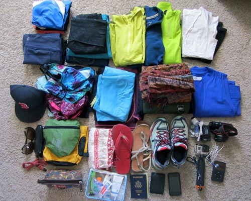 Packing for Adventure Travel
