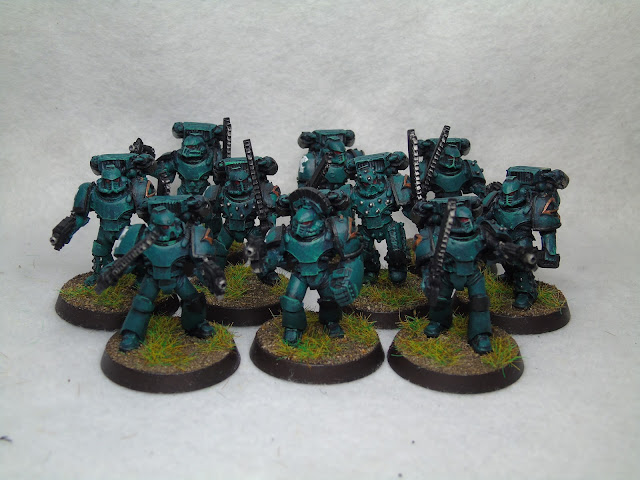 Sons of horus assault squad mk4 armour