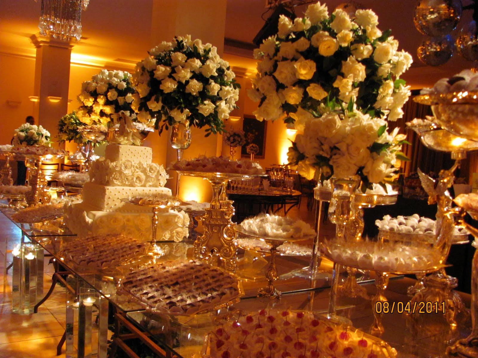 Recanto das Flores Decorao casamento buffet Catharina